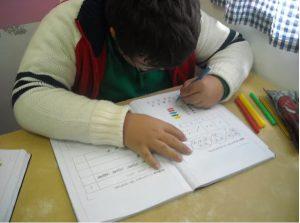 Utente da APPACDM no Centro Socioeducativo
