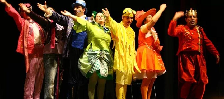 Cena do Teatro Fantasia da APPACDM