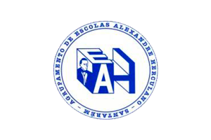 Logotipo do Agrupamento de Escolas Alexandre Herculano Santarém
