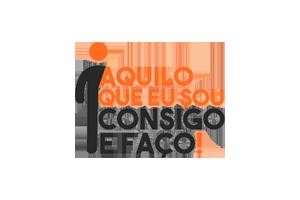 Logotipo do projeto Aquilo que eu sou, consigo e faço