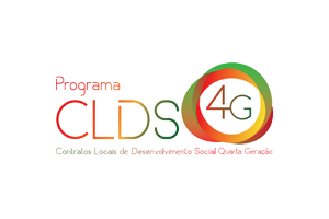 Logotipo do programa Contratos Locais de Desenvolvimento Social Quarta Geração