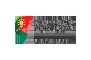 Logotipo do Governo de Portugal: Ministério da Saúde