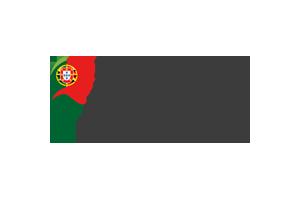Logotipo da República Portuguesa: Trabalho, Solidariedade e Segurança Social