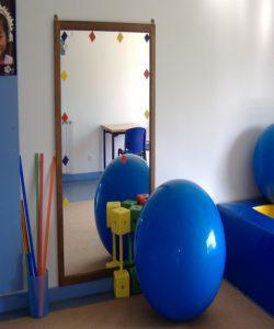 Sala da APPACDM para atividades terapêuticas
