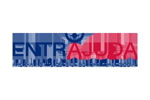 Logotipo do programa ENTREAJUDA Apoio a Instituições de Solidariedade Social