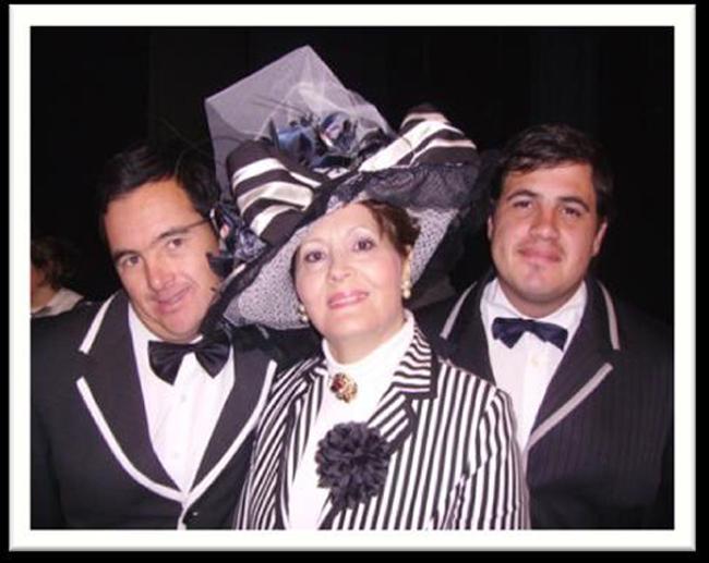 Três utentes da APPACDM do elenco do Teatro Fantasia